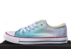 982de2216e3 Converse shoes converse sneakers shoes ombre by RagzDagzTM on Etsy Converse  Wedding Shoes