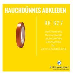 RK 627 - Zierlinienband zum präzisen Abkleben bei Lackierarbeiten #Krueckemeyer #Klebeband #Kleben #Auto #Adhesive #Tape #Lackieren #Zierlinien
