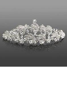 Headpieces Gorgeous Clear Crystals Wedding Bridal Tiara  (042005468)