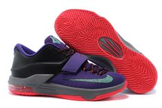 pretty nice f8f13 7b573 KD 7 Newest Lightning 534 Cave Purple Hyper Grape Magnet Grey Bleached  Turquoise 653996 535