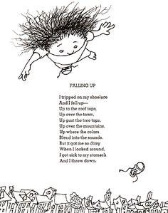 Falling Up ::: Shel Silverstein