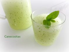 Granizado de mojito con thermomix Detox Thermomix, Thermomix Desserts, Food N, Food And Drink, Liqueur, Food Places, Mojito, Cocktails, Fun Drinks
