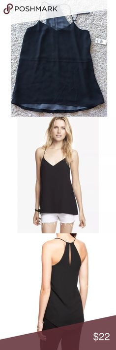 Express Barcelona Reversible Black Tank Top XS NEW Express  Barcelona tank  Reversible- black and grey  XS  $39.90  New with tags Express Tops Tank Tops