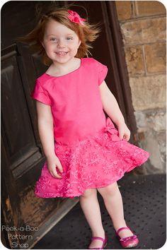 Kaylee Party Dress PDF Pattern & Tutorial 3 by PeekabooPatternShop, $7.95