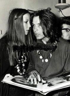 Penelope Tree & David Bailey