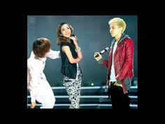 2ne1 and Bigbang: GD and Dara TOP and Bom - YouTube