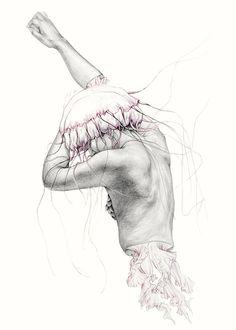 Mergulhe em um mundo de fantasias na série Metamorfish, de Elisa Ancori