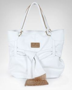 7. a handbag to tote your essentials {Bebe Fringe Chain Tote} #bebe #wishesanddreams