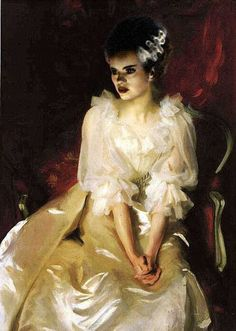 Influenced by John Singer Sargent, but I can't find this artist. Do you know?