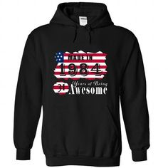 Made In 1984 Years Being Awesome 1 - #cool shirt #comfy sweatshirt. GET IT => https://www.sunfrog.com/Birth-Years/Made-In-1984-Years-Being-Awesome-1-4866-Black-21900883-Hoodie.html?68278