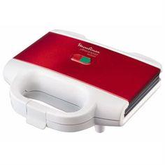 nice Moulinex SM159530 - Sandwichera, 700 W, color rojo y blanco Mas info: http://comprargangas.com/producto/moulinex-sm159530-sandwichera-700-w-color-rojo-y-blanco/