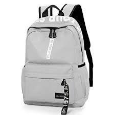 Bainuote Laptop Backpack Rucksack For Women Men, Travel Backpack Canvas Lightweight Laptop Rucksack For Notebook, Casual Gray School Bookbag Daypack Computer Bag For Girls Boys Teens Diy Rucksack, College Canvas, Lightweight Travel Backpack, Bags For Teens, Best Laptops, Computer Bags, Laptop Backpack, Notebook Rucksack, School Backpacks