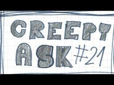 CREEPY ASK #21 The Living Tombstone, Love You, My Love, Creepy, 21st, Instagram, I Love You, Je T'aime, Te Amo