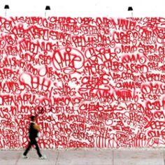 # red graffitti # photo