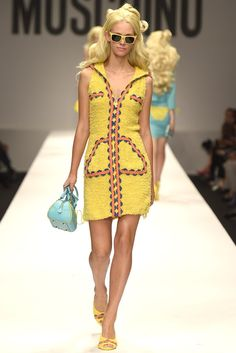 Barbie theme @ Moschino RTW Spring 2015 - Milan Fashion Week