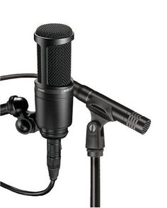 Audio Technica AT2041 Studio Microphone Package | Studio lighting