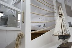 corde rampe on pinterest staircase ideas ropes and stairs. Black Bedroom Furniture Sets. Home Design Ideas