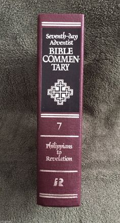 Holy bible revised standard version rsv genuine leather 1952 seventh day adventist bible commentary volume by hawaiianodysseus fandeluxe Gallery