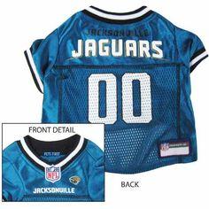 Jacksonville Jaguars Dog Jersey