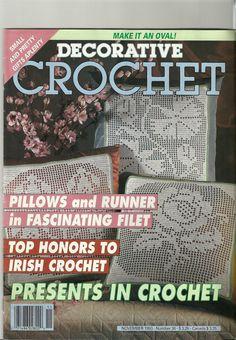 Decorative Crochet Magazine November 1993