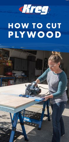 Learn how to cut plywood with this tool from Kreg!