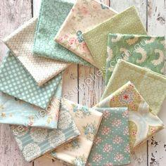 Tilda Spring Lake Fat Quarter Set 12pce - Tilda - Spring Lake - Fabric