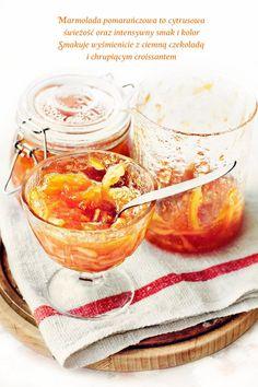 Marmolada pomarańczowa. Dżem pomarańczowy.