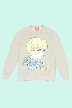 Peace, Love and Understanding: Hott Manga Sweatshirt.
