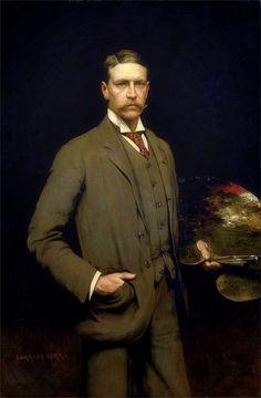 Charles Henry Malcolm Kerr · Autoritratto · 1899 · Ubicazione ignota