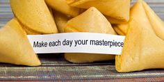 Make each day your masterpiece..