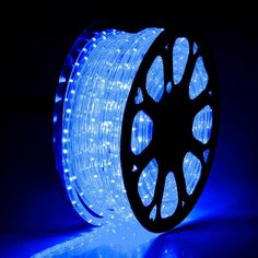 DELight 150 FT Blue LED Rope Light Indoor Outdoor Home Holiday Valentines Party Disco Restaurant Cafe Decoration ** Look into this fantastic item. (This is an affiliate link). Led Rope Lights, Wall Lights, Novelty Lighting, Sign Display, Holiday Lights, M Color, Save Energy, Different Colors, Bulb