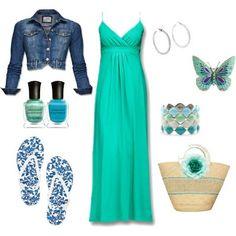 LOLO Moda: Cute Turquoise Dress #Classic design.#Casually Cool!!!#