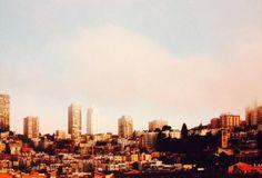 San Francisco skyline 35mm film