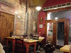 Osteria Cipolla Rossa, Florencia: nuestra mesa!