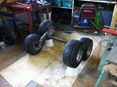 ATV trailer. tandem/walking axles - MIG Welding Forum