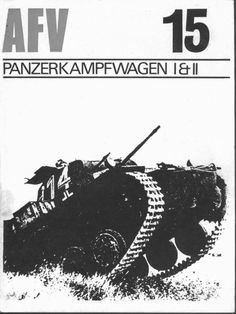 Livre - Revue PanzerKampfWagen I & II - AFV Weapons 15