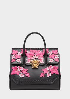 Edera Palazzo Empire Bag - Black Shoulder Bags