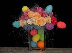 Beautiful Easter Flowers from Ritttners Floral School, Boston, MA  www.floralschool.com