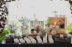 #escort-cards Photography: Brandon Kidd Photography - brandonkidd.net Planning, Design + Florals: A Good Affair Wedding & Event Production - agoodaffair.com Read More: http://www.stylemepretty.com/2013/01/29/san-clemente-wedding-from-a-good-affair-brandon-kidd/