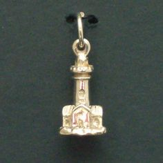 Sterling Silver Small Lighthouse
