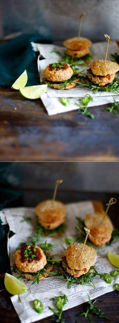 lake sliders - mini salmon curry sliders   the food club (google can translate the page)