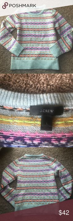 J. Crew Lambs Wool Crew Neck Sweater J. Crew Lambs Wool Crew Neck Sweater J. Crew Sweaters Crew & Scoop Necks
