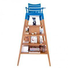 Chaise d'arbitre bibliothèque by Industrial Orchestra pour la Manufacture du Design