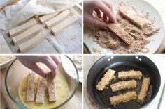 Crispy Tofu Fingers Recipe