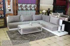 Salon Marocain Tingis avec tissu Maha - Salons marocains Richbond ...