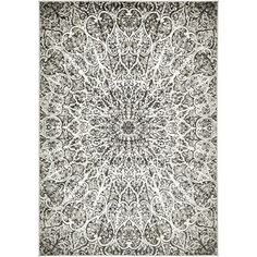 Bungalow Rose Ford Dark Gray Area Rug