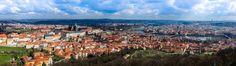 Prague, Czech Republic | View from Petrin Observation Tower