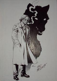 Feroz. Bigby Wolf (Fables)