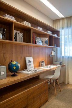Apartamento decorado RJZ -: Salas de estar translation missing: br.style.salas-de-estar.moderno por Gisele Taranto Arquitetura