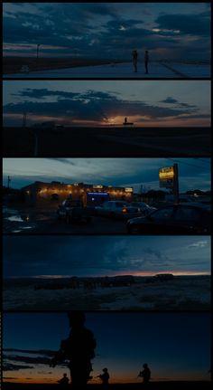 Sicario (2015) Director: Denis Villeneuve. Photography: Roger Deakins